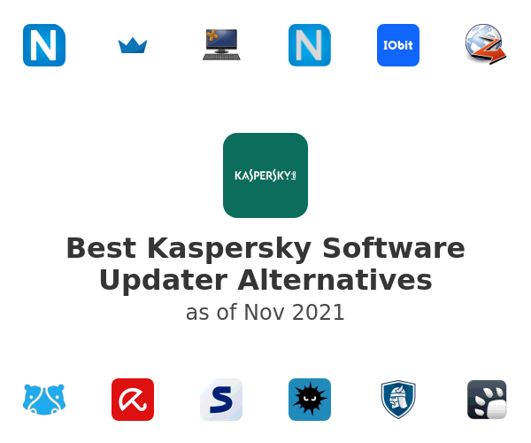 Best Kaspersky Software Updater Alternatives