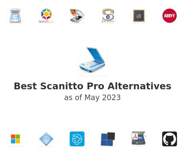 Best Scanitto Pro Alternatives