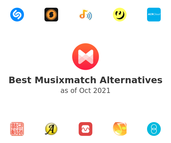 Best Musixmatch Alternatives