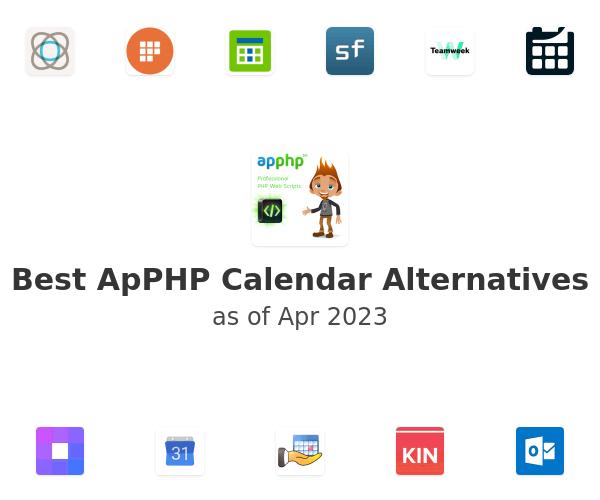 Best ApPHP Calendar Alternatives