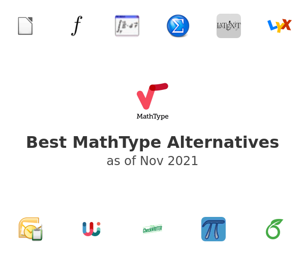 Best MathType Alternatives