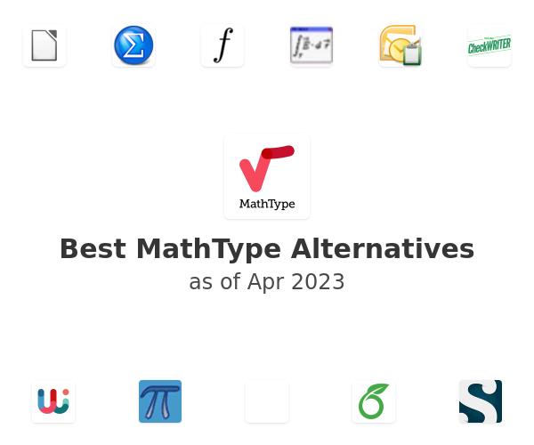 Best MathType Alternatives