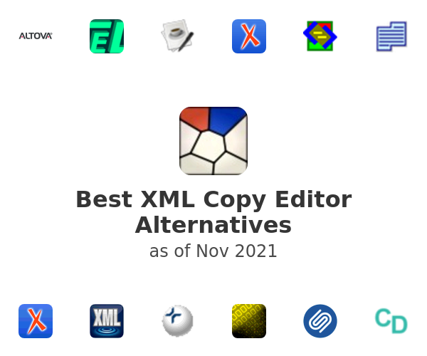 Best XML Copy Editor Alternatives