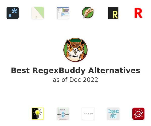 Best RegexBuddy Alternatives