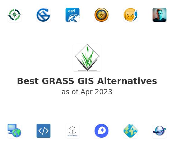 Best GRASS GIS Alternatives
