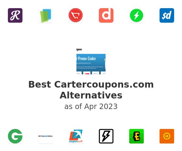 Best Cartercoupons.com Alternatives