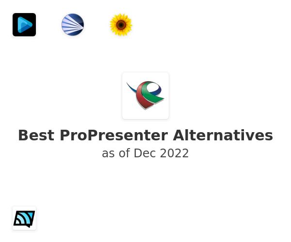 Best ProPresenter Alternatives