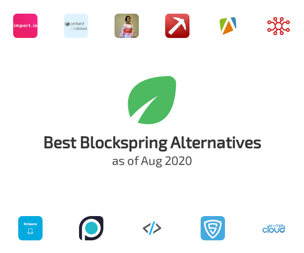 Best Blockspring Alternatives