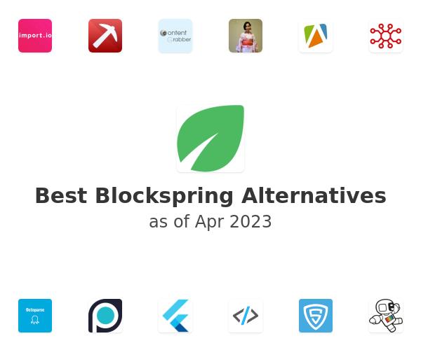 Best Blockspring Alternatives