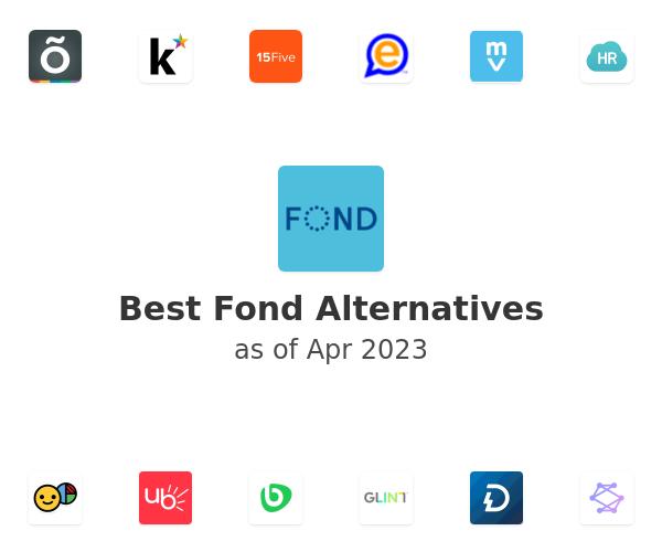 Best Fond Alternatives