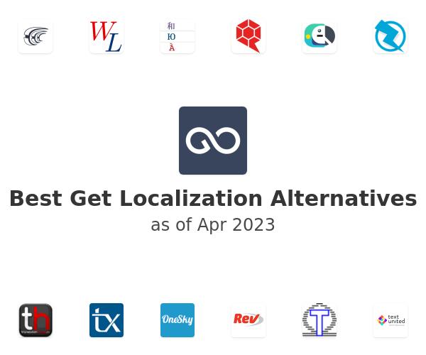 Best Get Localization Alternatives