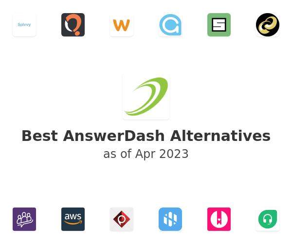 Best AnswerDash Alternatives
