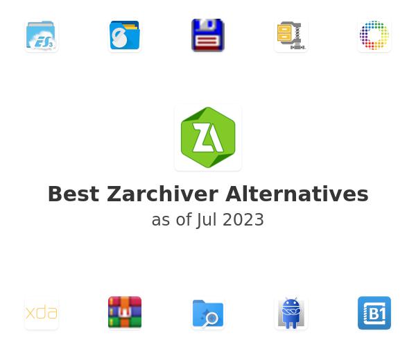 Best Zarchiver Alternatives