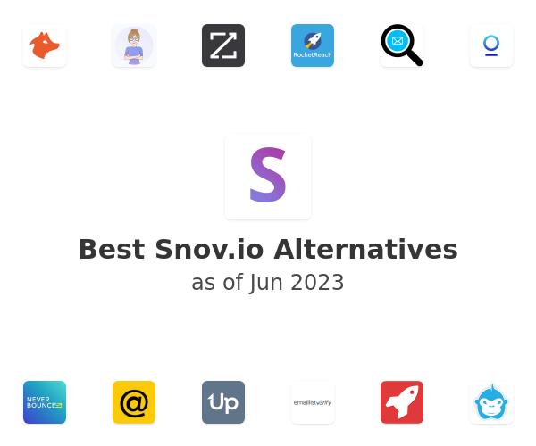 Best Snov.io Alternatives