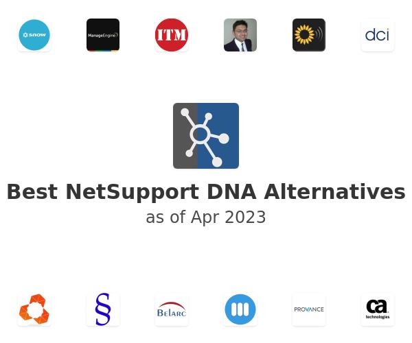 Best NetSupport DNA Alternatives