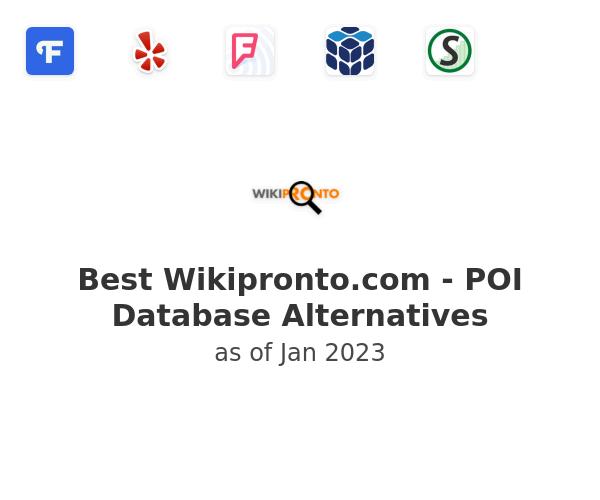 Best Wikipronto.com - POI Database Alternatives