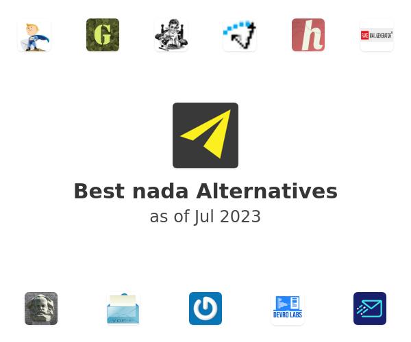 Best nada Alternatives