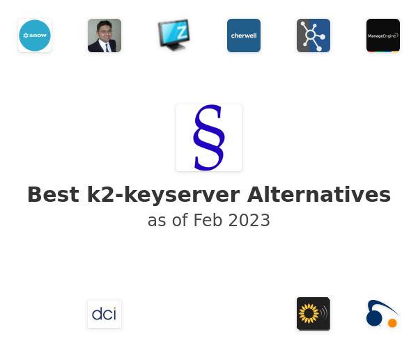 Best k2-keyserver Alternatives