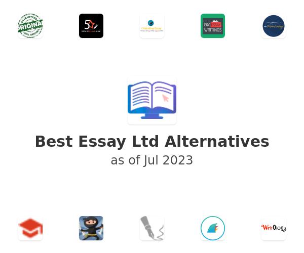 Best Essay Ltd Alternatives