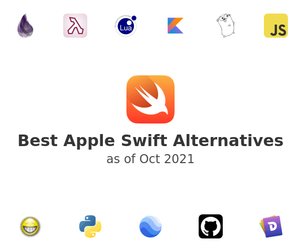 Best Apple Swift Alternatives