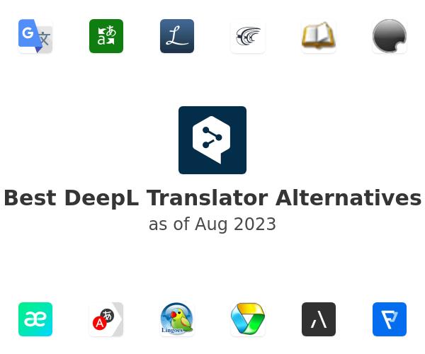 Best DeepL Translator Alternatives (2020) - SaaSHub