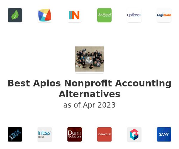 Best Aplos Nonprofit Accounting Alternatives