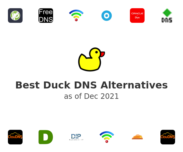 Best Duck DNS Alternatives