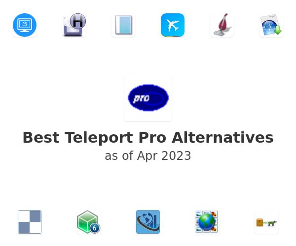 Best Teleport Pro Alternatives