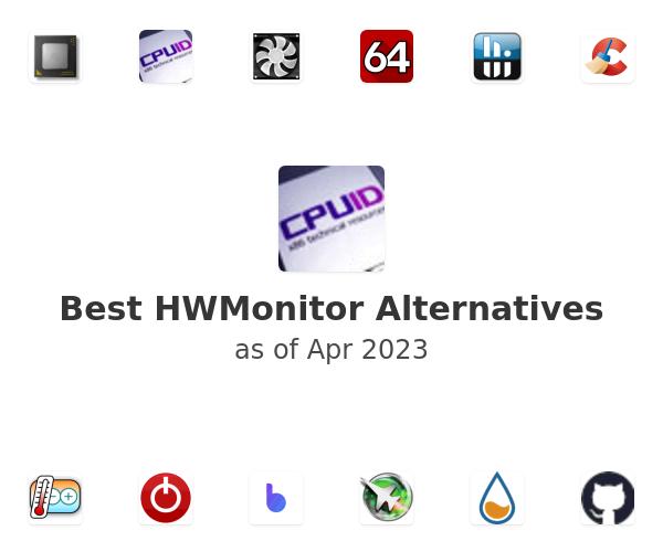 Best HWMonitor Alternatives