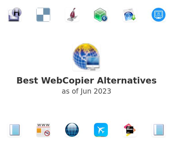 Best WebCopier Alternatives