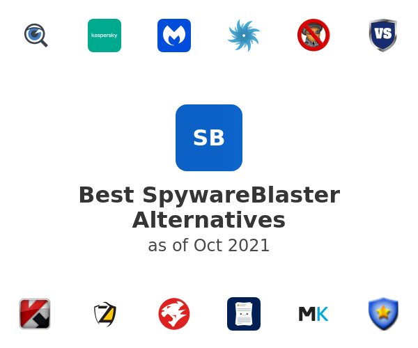 Best SpywareBlaster Alternatives