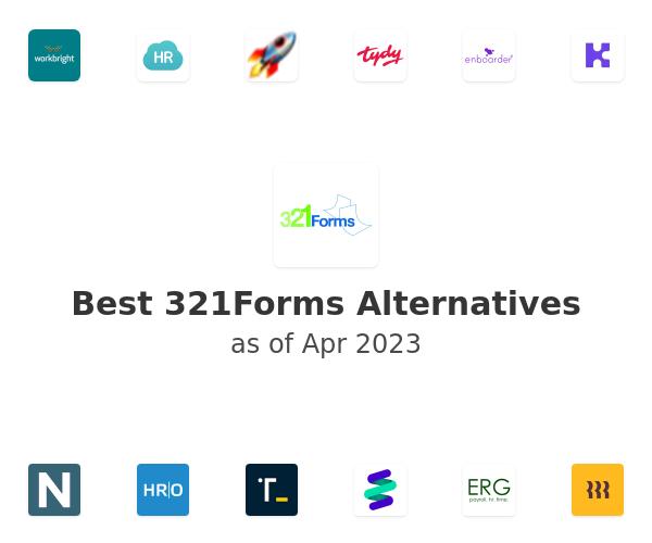 Best 321Forms Alternatives