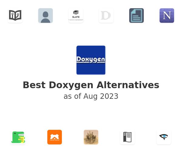 Best Doxygen Alternatives