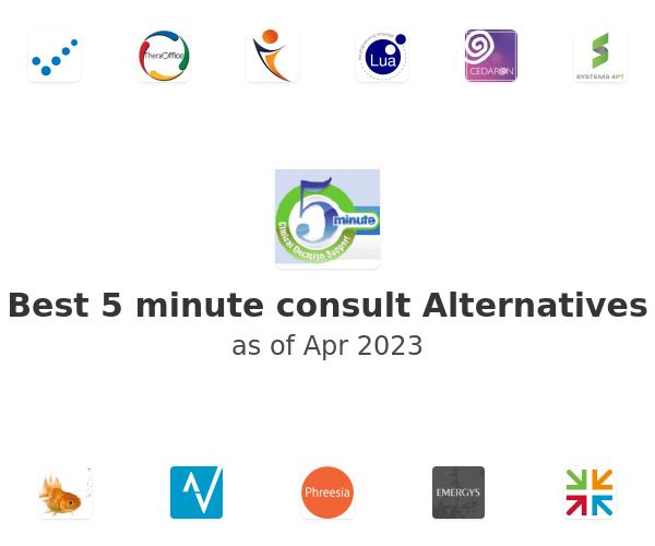 Best 5 minute consult Alternatives