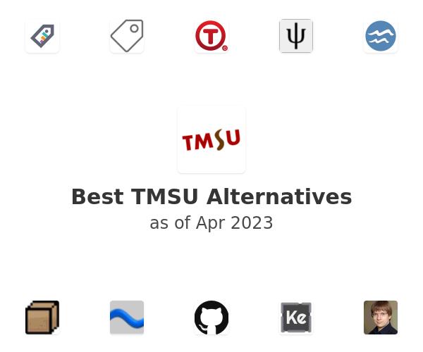 Best TMSU Alternatives