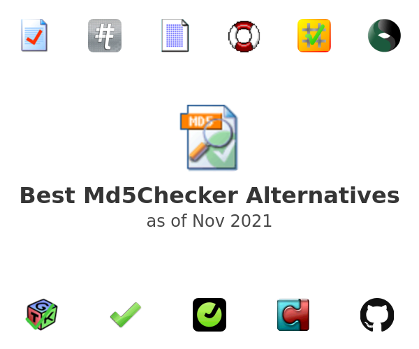 Best Md5Checker Alternatives