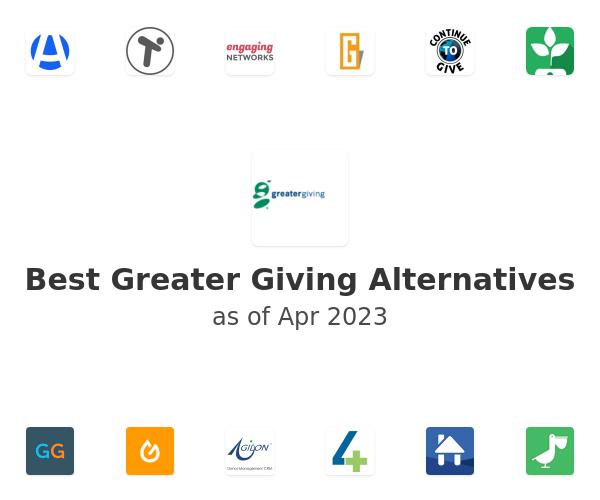 Best Greater Giving Alternatives
