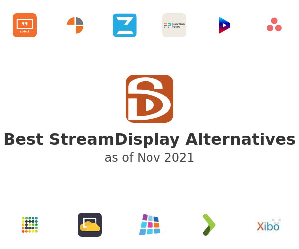 Best StreamDisplay Alternatives