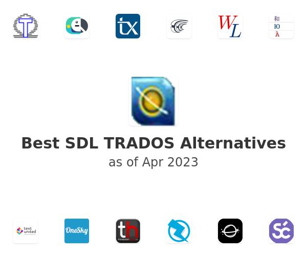 Best SDL TRADOS Alternatives
