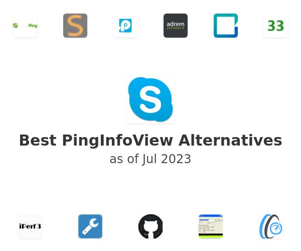 Best PingInfoView Alternatives