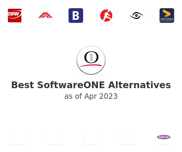 Best SoftwareONE Alternatives