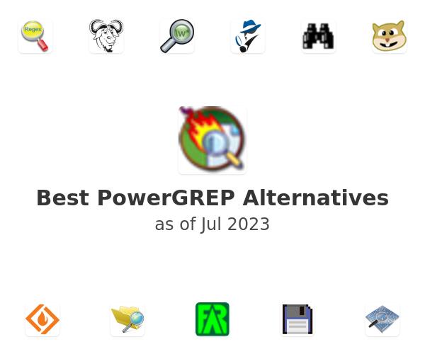 Best PowerGREP Alternatives