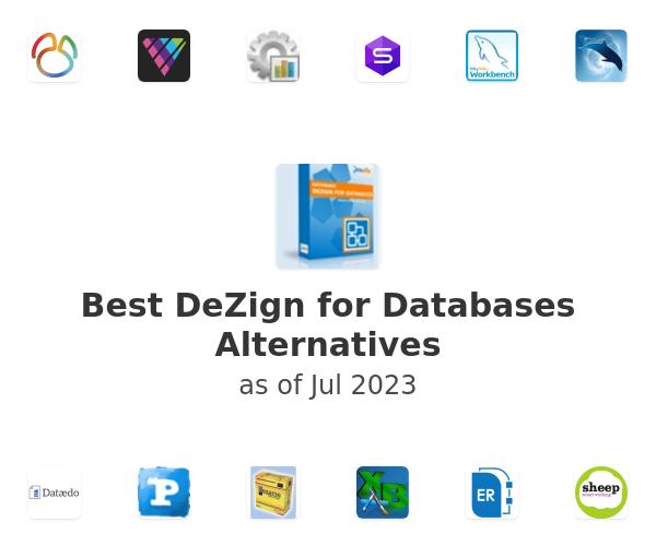 Best DeZign for Databases Alternatives