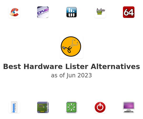 Best Hardware Lister Alternatives