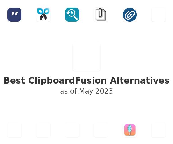 Best ClipboardFusion Alternatives