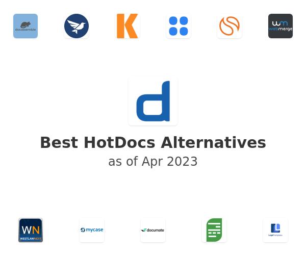 Best HotDocs Alternatives