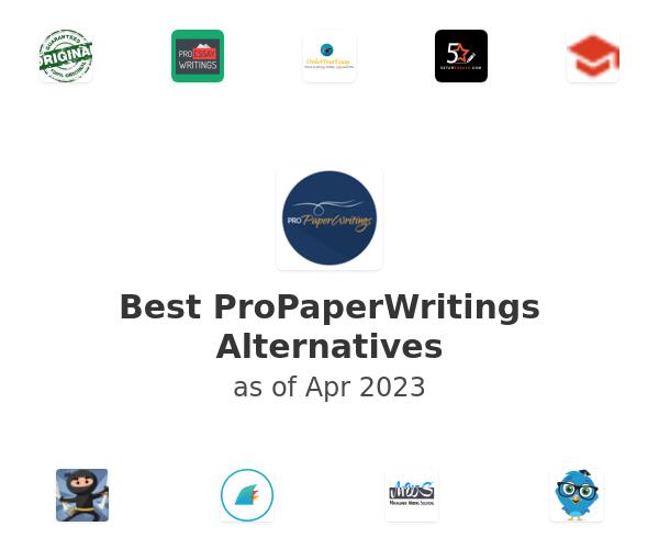 Best ProPaperWritings Alternatives