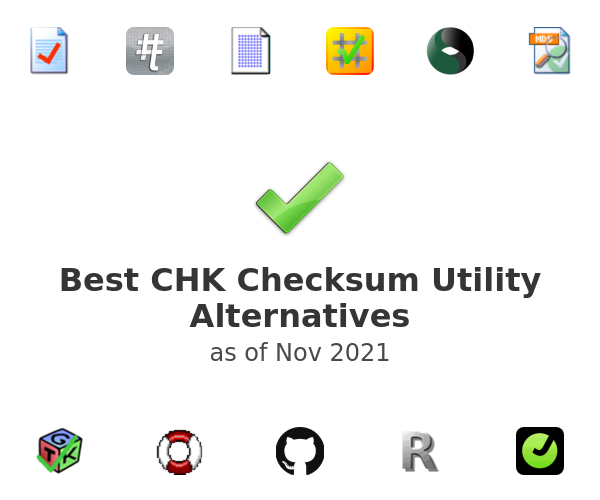 Best CHK Checksum Utility Alternatives