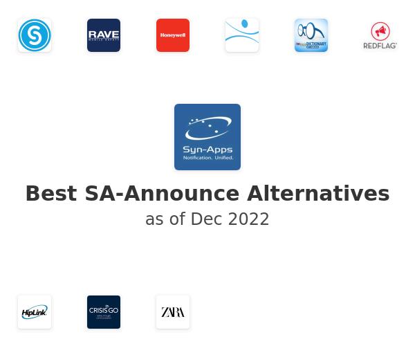 Best SA-Announce Alternatives