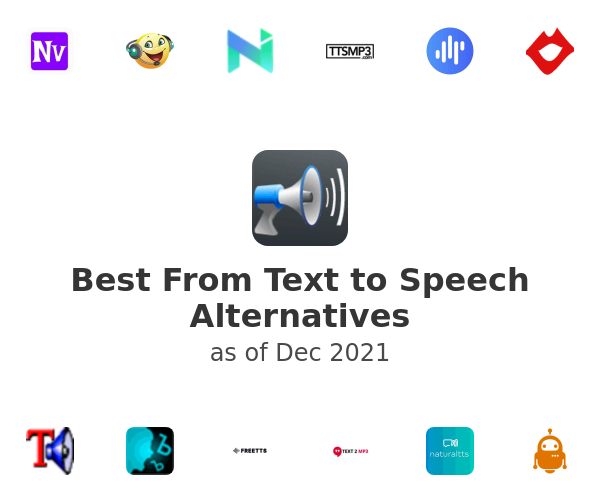 Best From Text to Speech Alternatives